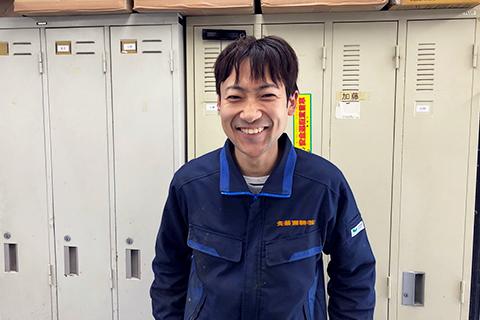 岡田 海世(群馬営業所/製造係 入社5年)